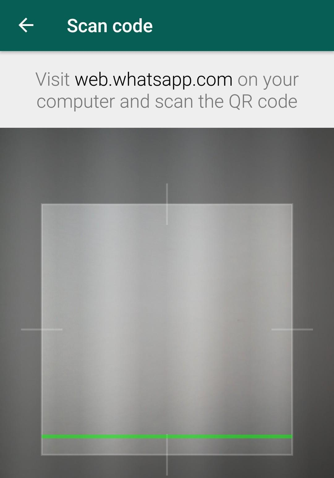 WhatsAppWeb QR-Code Autorisierungs Scanner